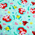 Disney Store The Little Mermaid Fleece Throw