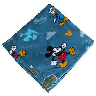 Disney Store Mickey Mouse Fleece Throw