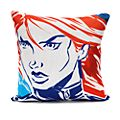 Captain America and Black Widow Cushion