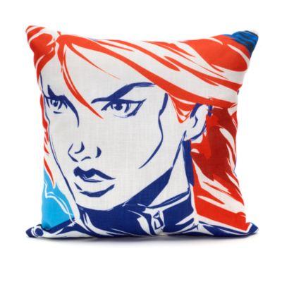 Captain America und Schwarze Witwe - Kissen