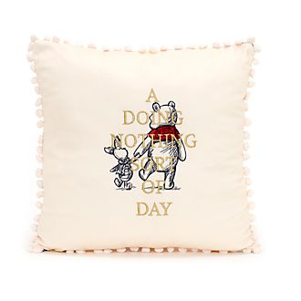 Disney Store Winnie the Pooh Cushion, Christopher Robin