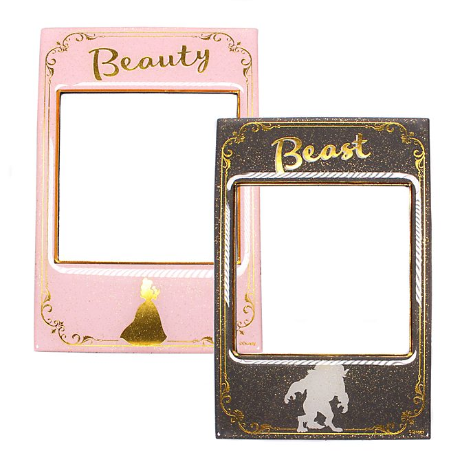 Die Schöne und das Biest - Magnet-Fotorahmen - 2er-Set