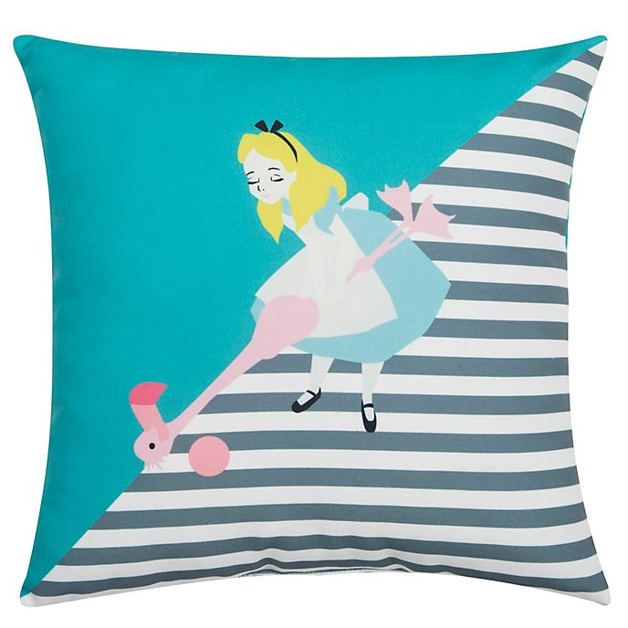 Alice in Wonderland Croquet Cushion