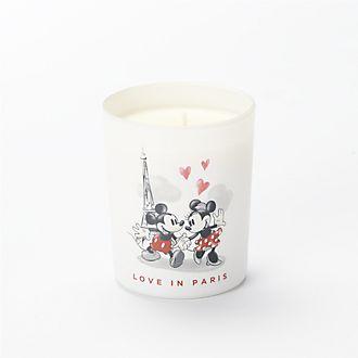 Francal Bougie parfumée Mickey et Minnie Love in Paris