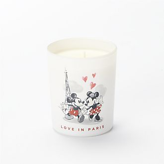 Francal Mickey and Minnie Love in Paris Candle