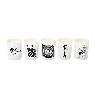 Francal Alice in Wonderland Candles, Set of 5