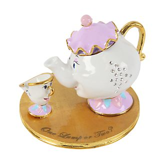 Disney Classic Mrs Potts & Chip Trinket Box