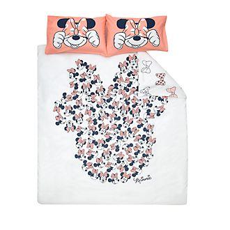 Disney Store Housse de couette Minnie Mouse réversible pour lit deux places