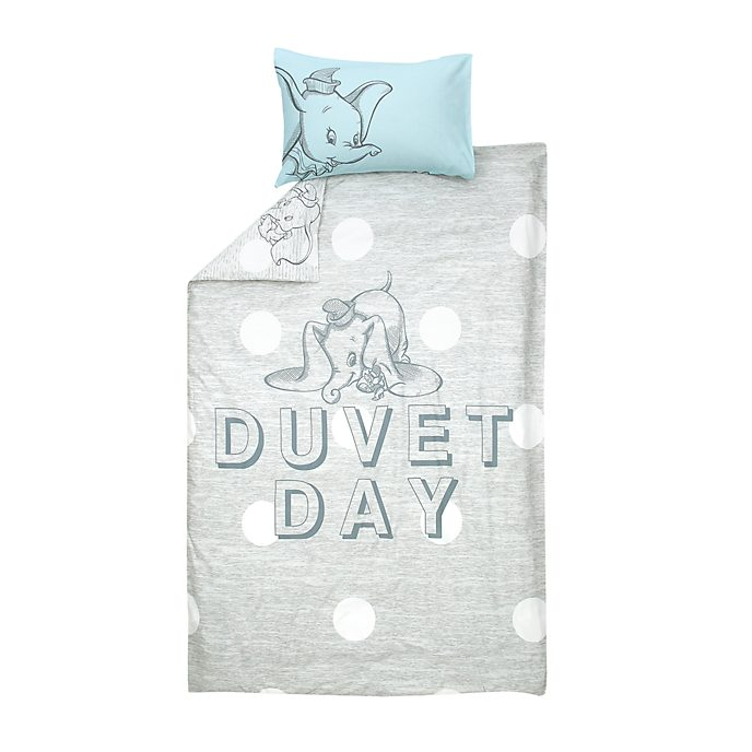 Disney Store Dumbo Reversible Single Duvet Cover Set