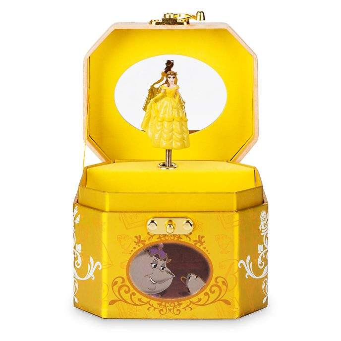 Disney Store Belle Musical Jewellery Box, Beauty and the Beast