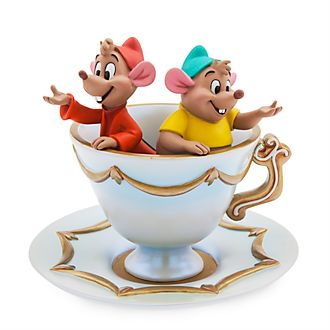 Disney Store Gus and Jaq Trinket Dish, Cinderella