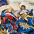 Disney Store Spider-Man Reversible Sleeping Bag For Kids