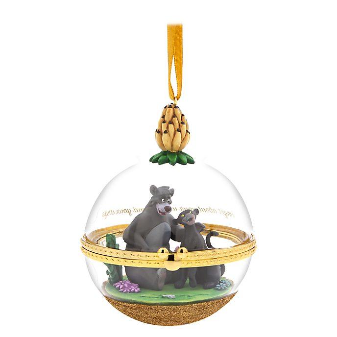 Adorno colgante Baloo y Bagheera, Parejas Perfectas, Disney Store (9 de 12)
