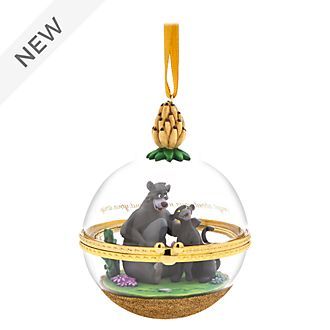 Disney Store Baloo and Bagheera Dynamic Duos Hanging Ornament, 9 of 12