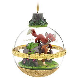 Disney Store Objet décoratif à suspendre Rox et Rouky Dynamic Duos, 7sur12