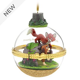 Disney Store The Fox and the Hound Dynamic Duos Hanging Ornament, 7 of 12