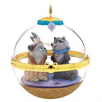Disney Store Meeko and Percy Dynamic Duos Hanging Ornament, 8 of 12