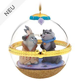 Disney Store - Dynamic Duos - Meeko und Percy - Dekorationsstück zum Aufhängen - 8 von 12