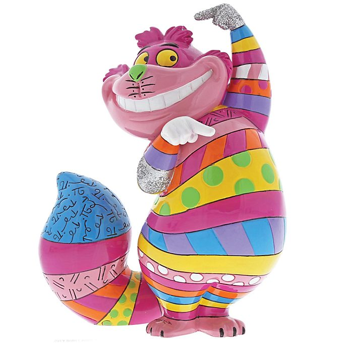 Enesco, figurita Gato Cheshire, Britto