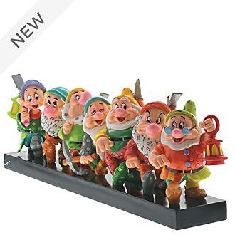 Enesco Seven Dwarfs Britto Figurine