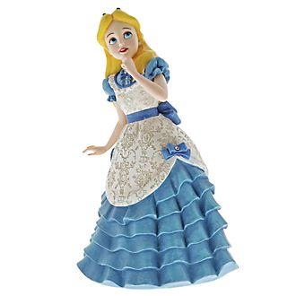 Enesco, figurita Alicia en el País de las Maravillas, Disney Showcase