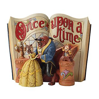 Enesco Beauty and the Beast Disney Traditions Storybook Figurine