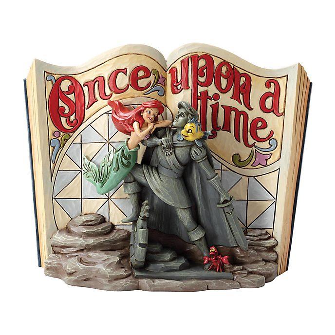 Enesco, figurita libro La Sirenita, Disney Traditions
