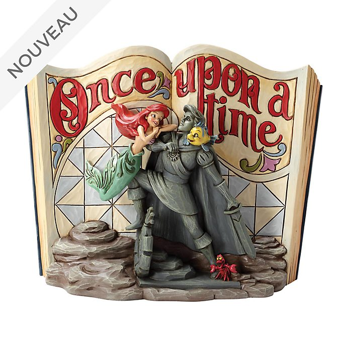 Enesco Figurine Storybook La Petite Sirène, Disney Traditions