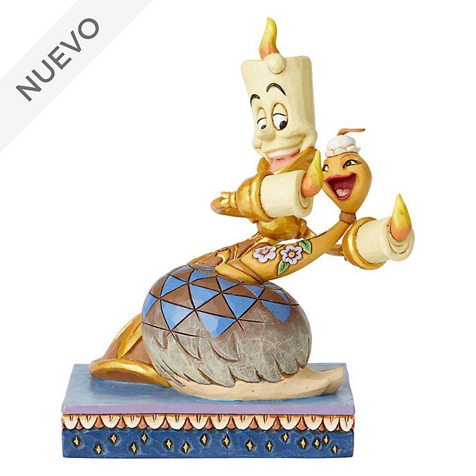 Enesco, figurita Lumière y Fifí, Disney Traditions