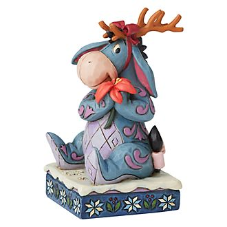 Enesco Eeyore Winter Wonders Disney Traditions Figurine