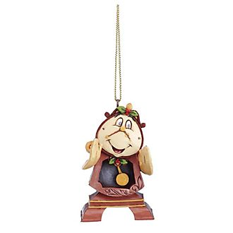 Enesco Cogsworth Disney Traditions Hanging Ornament