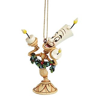 Enesco Lumiere Disney Traditions Hanging Ornament