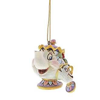 Enesco Mrs. Potts and Chip Disney Traditions Hanging Ornament