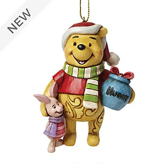 Enesco Winnie the Pooh and Piglet Disney Traditions Hanging Ornament