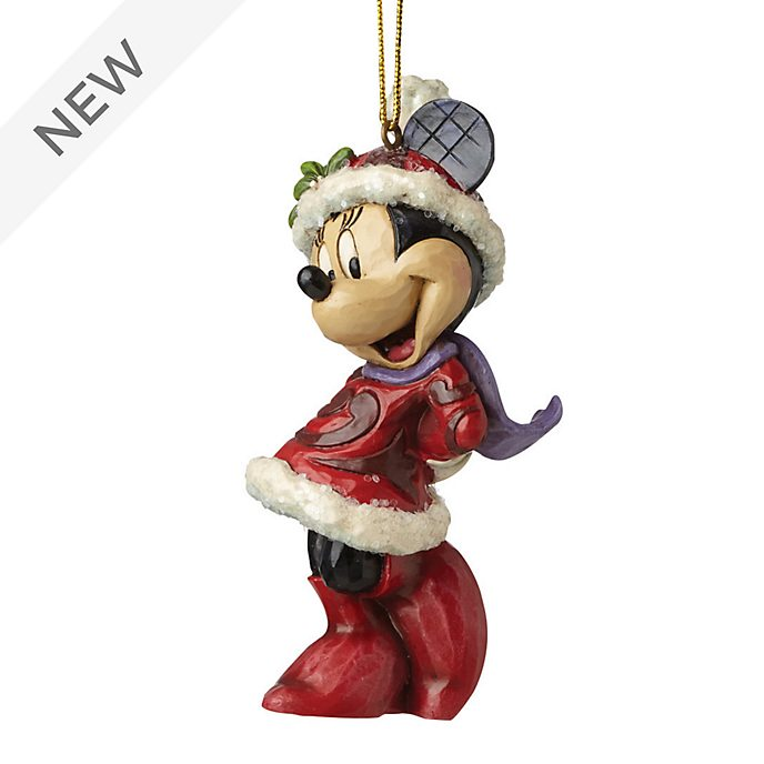 Enesco Minnie Mouse Disney Traditions Hanging Ornament