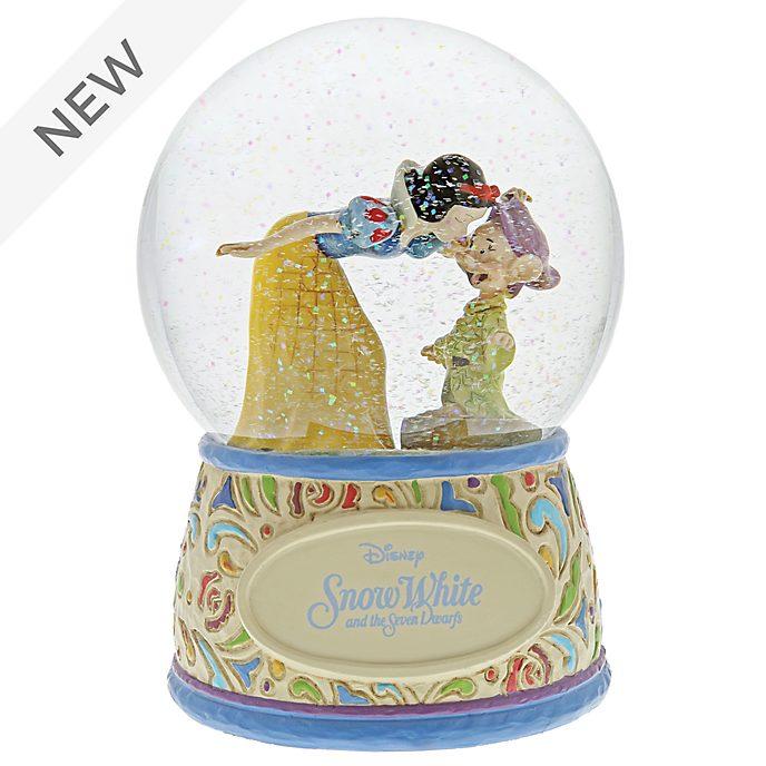 Enesco Snow White and Dopey Disney Traditions Snow Globe
