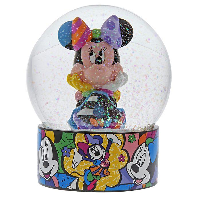 Enesco Minnie Mouse Britto Snow Globe