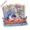 "Enesco Figurine Storybook Raiponce ""Une nuit magique"", Disney Traditions"