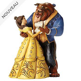 """Enesco Figurine La Belle et la Bête """"Valse au clair de lune"""", Disney Traditions"""