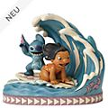 Enesco - Disney Traditions Figur - Lilo und Stitch - Catch the Wave