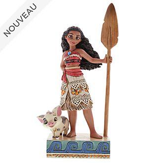 "Enesco Figurine Vaiana ""Trouve ta voie"", Disney Traditions"