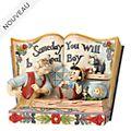 Enesco Figurine Storybook Pinocchio, Disney Traditions