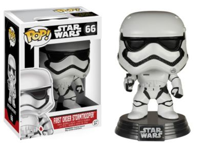 Stormtrooper Pop ! Star Wars : Le Réveil de la Force Figurine Funko en vinyle