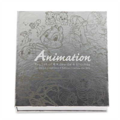 Disney Animation - Anstecknadeln, 4er-Set
