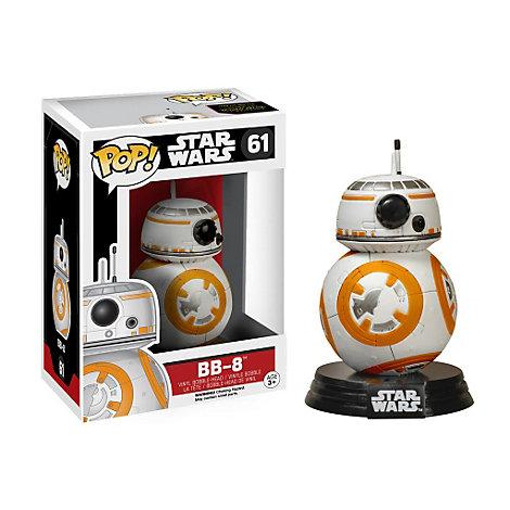 Personaggio in vinile BB-8 di Star Wars: Il Risveglio della Forza, serie Pop! di Funko