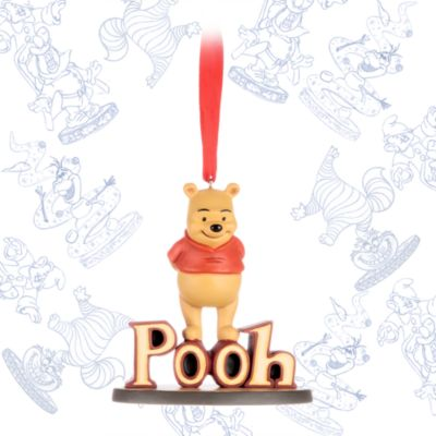 Nalle Puh Ornament,art of Disney Animation Collection