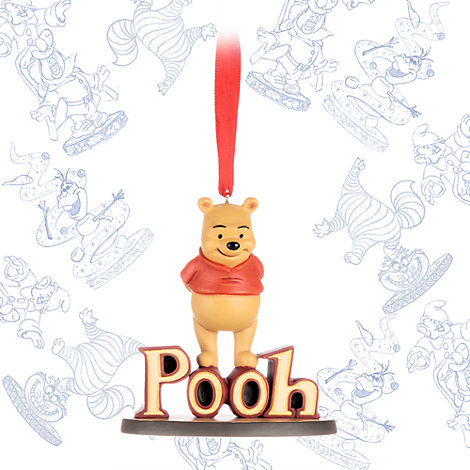 Winnie the Pooh Ornament, Art of Disney Animation Collection