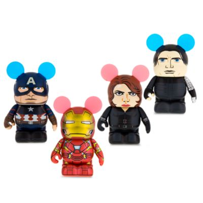 Figurine 7,5 cm Vinylmation Captain America : Civil War