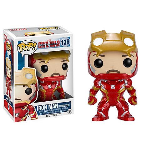 Unmasked Iron Man Pop! Vinyl Figure by Funko
