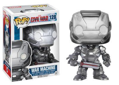 Figura Pop! Máquina de Guerra Figura vinilo Funko, Capitán América: Civil War
